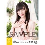 SKE48 2018年3月度 net shop限定個別生写真「ガーデン」5枚セット 野々垣美希