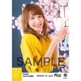 SKE48 2018年3月度 net shop限定個別生写真「夜桜」5枚セット 内山命