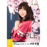 SKE48 2018年3月度 net shop限定個別生写真「夜桜」5枚セット 太田彩夏