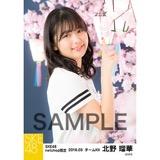 SKE48 2018年3月度 net shop限定個別生写真「夜桜」5枚セット 北野瑠華