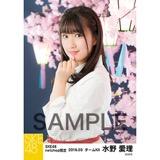 SKE48 2018年3月度 net shop限定個別生写真「夜桜」5枚セット 水野愛理