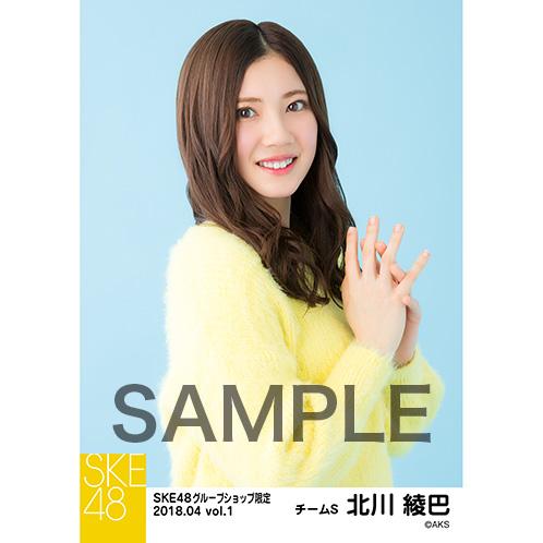 SKE48 2018年4月度 net shop限定個別生写真5枚セットvol.1 北川綾巴
