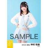 SKE48 2018年4月度 個別生写真5枚セット 仲村和泉