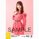 SKE48 2018年4月度 net shop限定個別生写真5枚セットvol.3 内山命