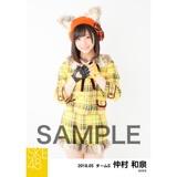 SKE48 2018年5月度 個別生写真5枚セット 仲村和泉