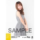 SKE48 2018年6月度 net shop限定個別生写真5枚セットvol.1 内山命