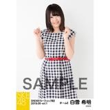 SKE48 2018年6月度 net shop限定個別生写真5枚セットvol.1 白雪希明