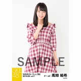 SKE48 2018年6月度 net shop限定個別生写真5枚セットvol.1 髙畑結希