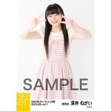 SKE48 2018年6月度 net shop限定個別生写真5枚セットvol.1 深井ねがい