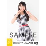 SKE48 2018年6月度 net shop限定個別生写真5枚セットvol.1 中野愛理
