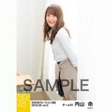 SKE48 2018年6月度 net shop限定個別生写真5枚セットvol.2 内山命
