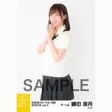 SKE48 2018年6月度 net shop限定個別生写真5枚セットvol.3 鎌田菜月
