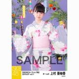 SKE48 2018年7月度 net shop限定個別生写真5枚セットvol.1 上村亜柚香