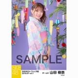 SKE48 2018年7月度 net shop限定個別生写真5枚セットvol.1 山田樹奈