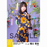 SKE48 2018年7月度 net shop限定個別生写真5枚セットvol.1 福士奈央