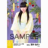 SKE48 2018年7月度 net shop限定個別生写真5枚セットvol.1 深井ねがい