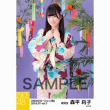 SKE48 2018年7月度 net shop限定個別生写真5枚セットvol.1 森平莉子