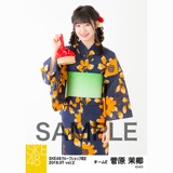 SKE48 2018年7月度 net shop限定個別生写真5枚セットvol.2 菅原茉椰
