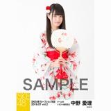 SKE48 2018年7月度 net shop限定個別生写真5枚セットvol.2 中野愛理
