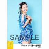 SKE48 2018年7月度 個別生写真5枚セット 高木由麻奈