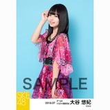 SKE48 2018年7月度 個別生写真5枚セット 大谷悠妃