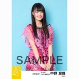 SKE48 2018年7月度 個別生写真5枚セット 中野愛理