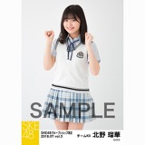 SKE48 2018年7月度 net shop限定個別生写真5枚セットvol.3 北野瑠華