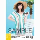 SKE48 2018年8月度 net shop限定個別生写真5枚セットvol.1 仲村和泉