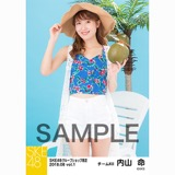 SKE48 2018年8月度 net shop限定個別生写真5枚セットvol.1 内山命
