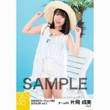 SKE48 2018年8月度 net shop限定個別生写真5枚セットvol.1 片岡成美