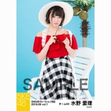 SKE48 2018年8月度 net shop限定個別生写真5枚セットvol.1 水野愛理