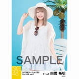 SKE48 2018年8月度 net shop限定個別生写真5枚セットvol.1 白雪希明
