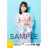 SKE48 2018年8月度 net shop限定個別生写真5枚セットvol.3 片岡成美
