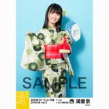 SKE48 2018年8月度 net shop限定個別生写真5枚セットvol.3 西満里奈