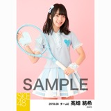 SKE48 2018年8月度 個別生写真5枚セット 髙畑結希