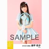 SKE48 2018年8月度 個別生写真5枚セット 森平莉子
