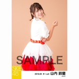 SKE48 2018年9月度 個別生写真5枚セット 山内鈴蘭