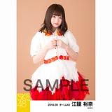 SKE48 2018年9月度 個別生写真5枚セット 江籠裕奈
