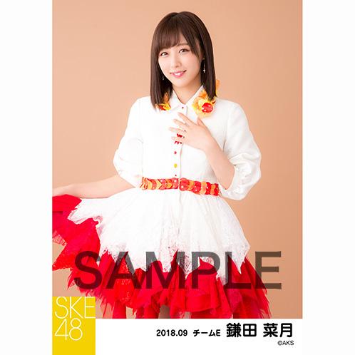 SKE48 2018年9月度 個別生写真5枚セット 鎌田菜月
