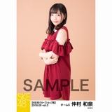 SKE48 2018年9月度 net shop限定個別生写真5枚セットvol.3 仲村和泉