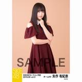 SKE48 2018年9月度 net shop限定個別生写真5枚セットvol.3 矢作有紀奈