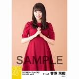SKE48 2018年9月度 net shop限定個別生写真5枚セットvol.3 菅原茉椰
