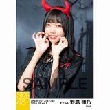SKE48 2018年10月度 net shop限定個別生写真5枚セットvol.1 野島樺乃