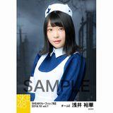 SKE48 2018年10月度 net shop限定個別生写真5枚セットvol.1 浅井裕華