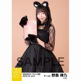 SKE48 2018年10月度 net shop限定個別生写真5枚セットvol.2 野島樺乃