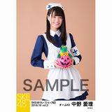 SKE48 2018年10月度 net shop限定個別生写真5枚セットvol.2 中野愛理