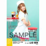 SKE48 2018年11月度 net shop限定個別生写真5枚セットvol.1 山田樹奈