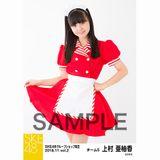 SKE48 2018年11月度 net shop限定個別生写真5枚セットvol.2 上村亜柚香