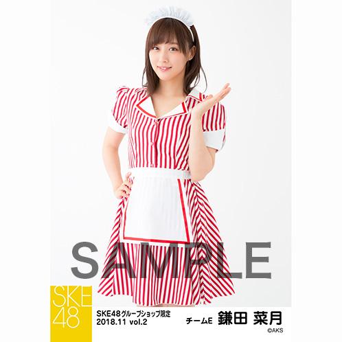 SKE48 2018年11月度 net shop限定個別生写真5枚セットvol.2 鎌田菜月