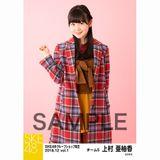 SKE48 2018年12月度 net shop限定個別生写真5枚セットvol.1 上村亜柚香